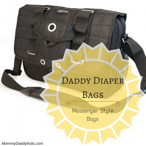 Messenger Style Daddy Diaper Bags