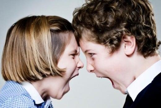 Battle of the siblings