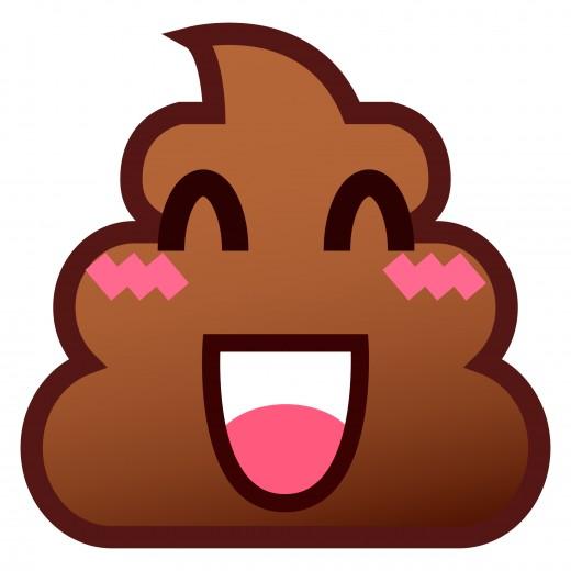 A clean poop is a happy poop