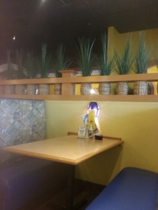 lovely decor at Blue Agave Mexican Bar and Grill