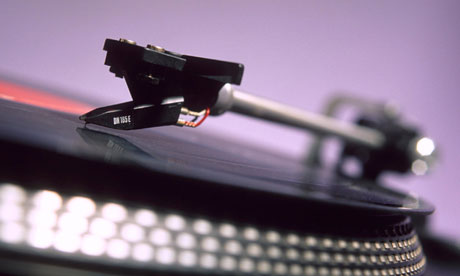 "Careful!  A needle will eventually ""wear out"" the record. Replace needle often. Sharper needles do less damage."