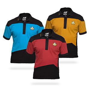 Star Trek polos