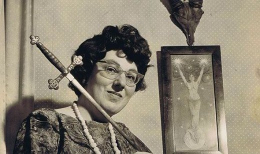 Doreen Valiente is now called the Mother of Modern Witchcraft.