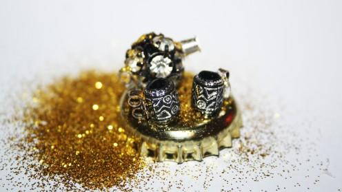 How to Make a Miniature Tea Set for a Dollhouse