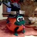 Froggy Witch Pumpkin Craft