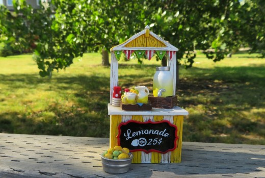 Remember how much fun it was to make money on the side setting up a lemonade stand when you were a kid?