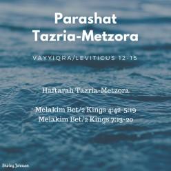 Parashat Tazria-Metzora