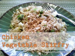 Easy Peasy Chicken Vegetable Stirfry