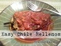 Easier Than You'd Think Chile Rellenos
