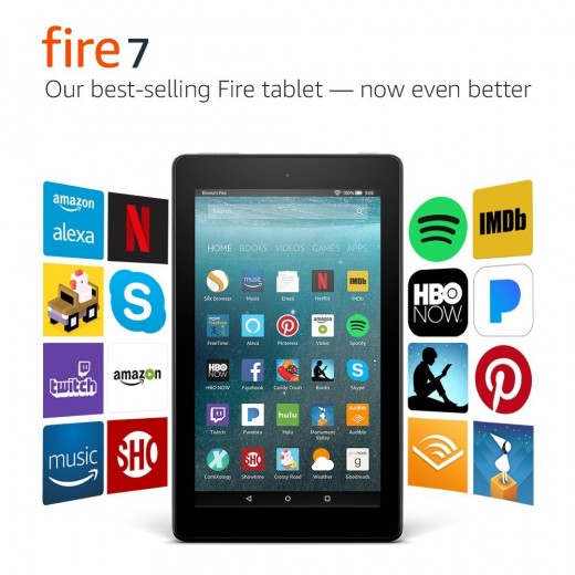 The Amazon Fire Tablet