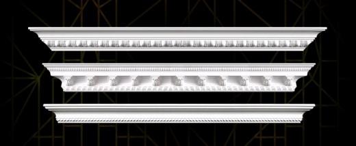 Art Deco crown molding
