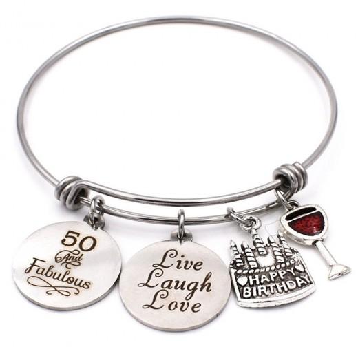 50-Year-Old Charm Bracelet