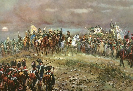 The conclusion of the Battle of Jena (1806)