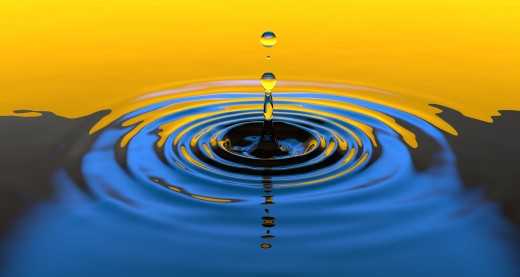 Like a Droplet Released from a Cloud---Our Emotions Can Have a Free Fall from Our Troubled Minds