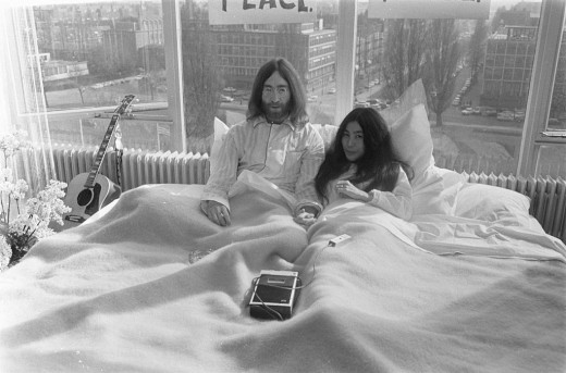 John and Yoko were in bed by choice