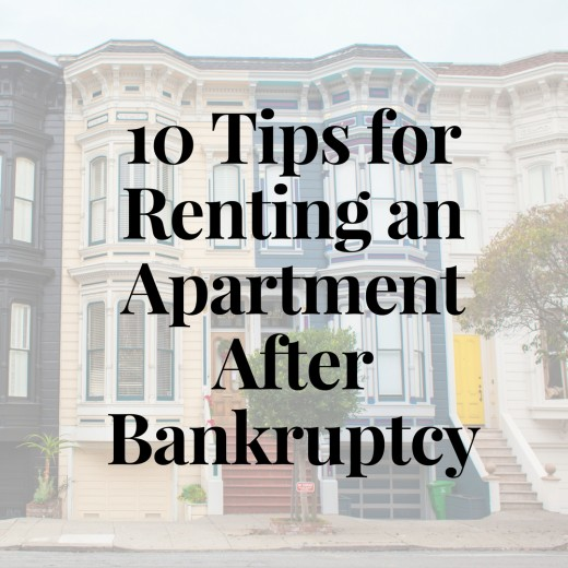 Bankruptcy Renting Apartment
