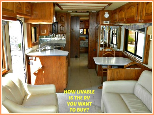 Do your best when RV shopping to make sure that the unit you want to buy will be as comfortable as possible.