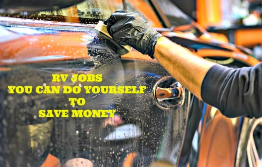 There are many jobs RV owners can easily do themselves if they want to save money.