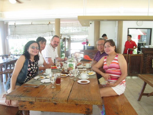 Our adventure always end at a dining table, in this case, at STILTS Restaurant