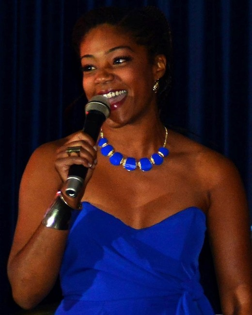 Tiffany Haddish, 38-year-old comedian who once was homeless.