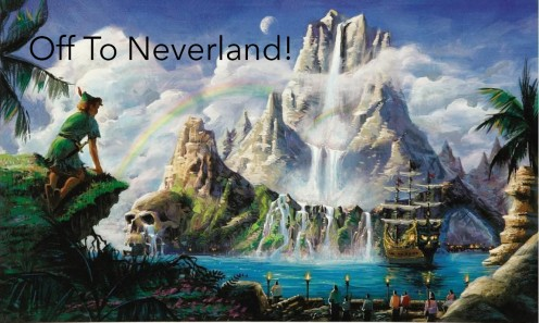 Off to Neverland!- The Kingdom of Lost Worlds (Part 1)
