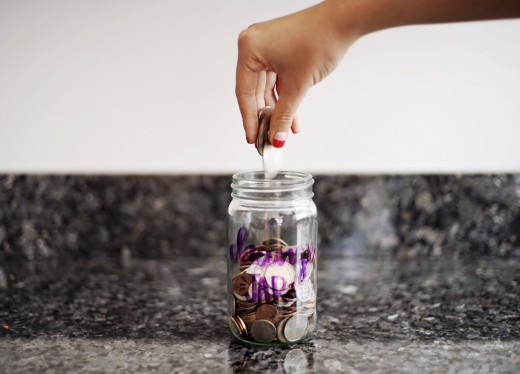 Save your change for your baby's arrival!