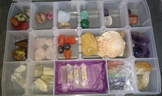 Healing crystals can help ease fears and support during trying times in life.