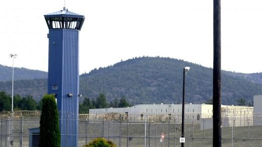 The bleak prison landscape