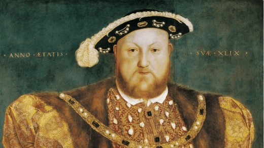 Henry VIII, Mary's father.