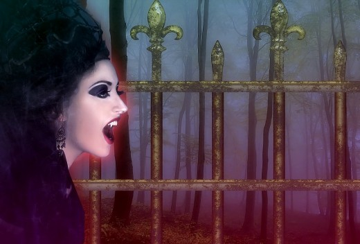 The undead lurk around every corner...around every cemetery gate and twisted tree.