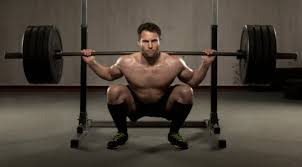 With heavier weights, your joints will thank you if you don't squat any further than parallel to the floor.