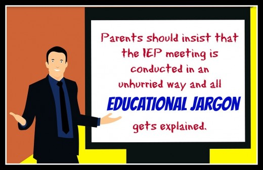 Whether intentionally or unintentionally, teachers and administrators often make parents feel dumb at IEP meetings when they toss out educational jargon that's unfamiliar to moms and dads. Parents should insist that these terms be explained.