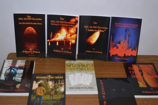 All published through CreateSpace/Amazon
