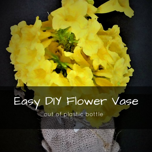 Easy Diy Flower Vase Out Of Plastic Bottle Hubpages