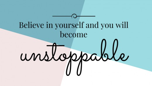 Do you believe in yourself? Try looking within yourself, pray to god and write down your goals.