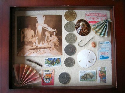 Make a Mother's Day shadow box of memories for your mom