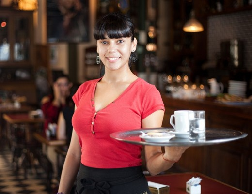 To be the best waiter or waitress, it helps if you are calm and friendly.