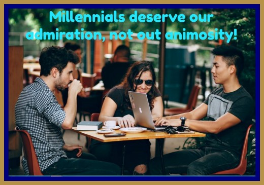 These days millennials get blamed for many of society's ills, but they should also get acknowledged for what they contribute to the world.