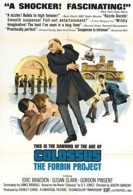 Colossus: The Forbin Project movie poster