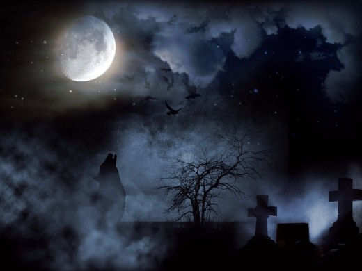 Ghostly Spirits are also said to hang around Graveyards like the Famous Rochester Mt. Hope Cemetery.  See under the Ghost Poll for more information.