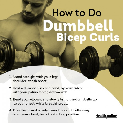 How to Do Dumbell Biceps Curls