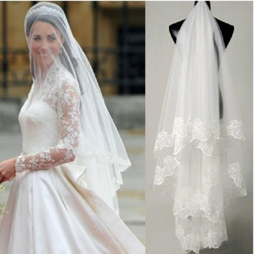 Make your own veils, every bit as beautiful as a Princess!