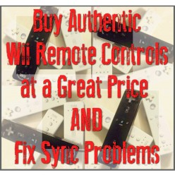 How to Buy Wii Remote Controls at a Great Price and Fix Sync Problems