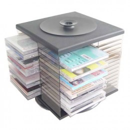 CD racks can be portable and easy to keep anywhere