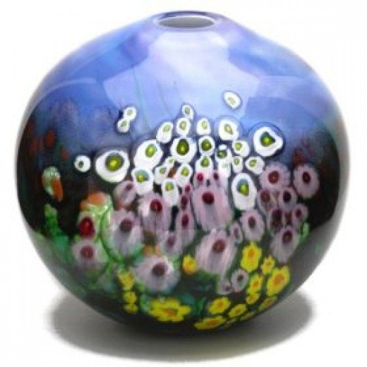 A Murano glass vase is the ultimate expression of Old World glass craftsmanship