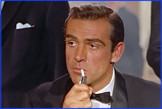 This photo is from the first scene Sean Connery shot for Dr. No.  The film had just started, but we knew this man was Bond... James Bond...