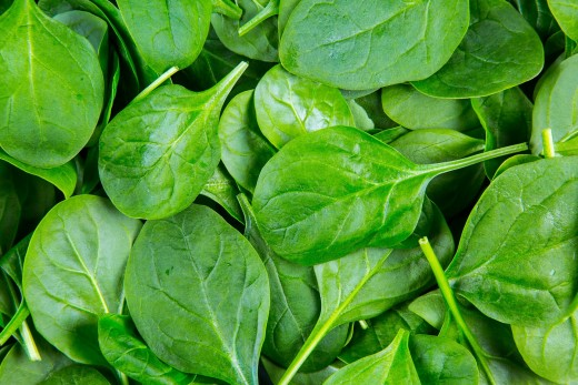 Spinach occupies the second position in the EWG's 2018 Dirty Dozen list.