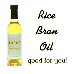 Rice Bran Oil - The Oil That is Good For You