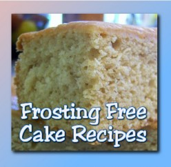 Spice Cake & Other Frosting-Free Cake Recipes