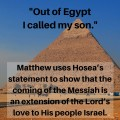 Bible Story of the Day: Out of Egypt